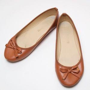Primadonna Brown Ballet Flats